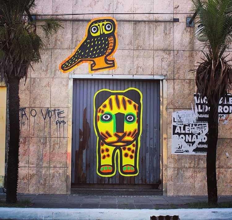 Arte Xadalu nas ruas