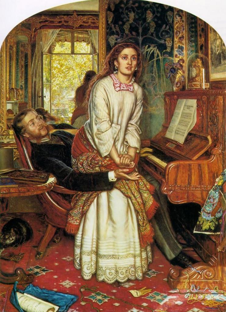 The Awakening Conscience, William Holman Hunt.