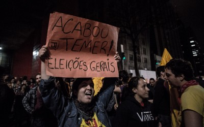Sâmia Bomfim: Acabou, Temer! Todos às ruas!