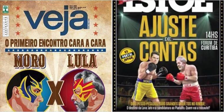 Capas de revistas dessa semana.