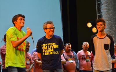 Régis e Douglas: da periferia de Fortaleza ao palco principal da XII Bienal do Livro do CE