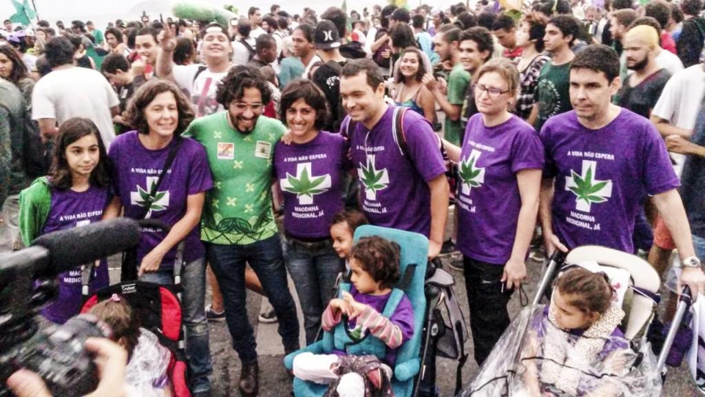 Jean Wyllys durante Marcha da Maconha no Rio de Janeiro. Foto: ASCOM Jean Wyllys