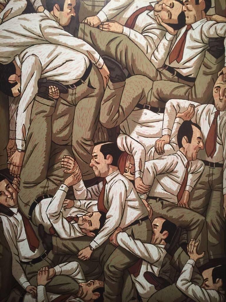 Ilustração: reprodução da obra Puzzle de Paco Roca