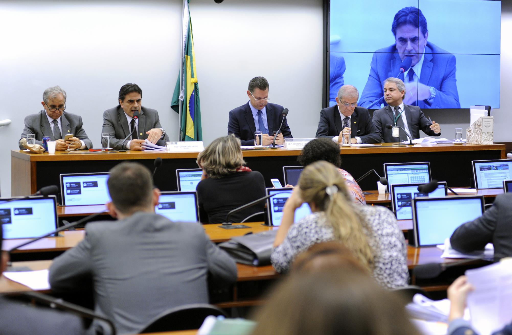 Reunião ordinária da CPI da Lei Rouanet no dia de sua aprovação. Foto: Lúcio Bernardo Junior/Câmara dos Deputados