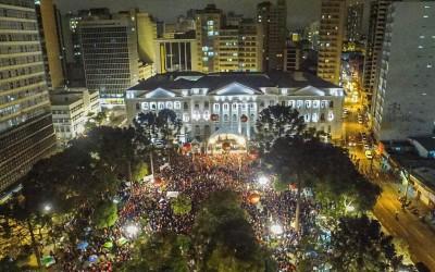 Estive em Curitiba; o Brasil todo esteve, cada um de uma forma