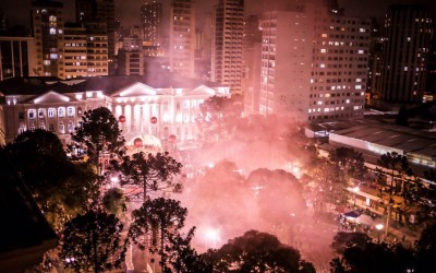 O que fui fazer em Curitiba