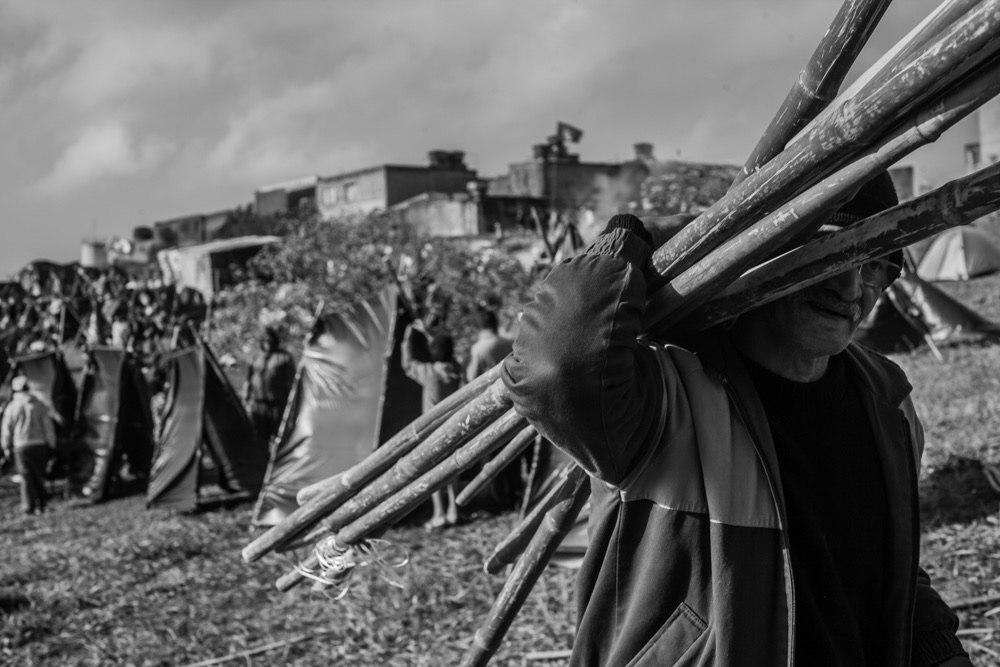 Ocupação do MTST na região de Guarulhos. Foto: Mídia NINJA