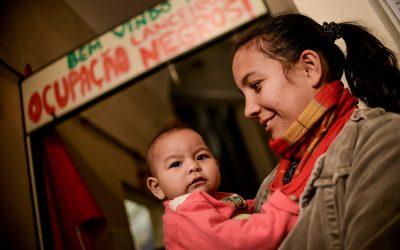 As mães valentes das ocupações
