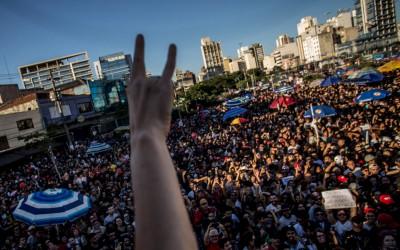 Diretas Já, uma novidade em São Paulo