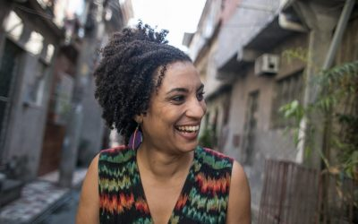 Thank you, Marielle Franco!