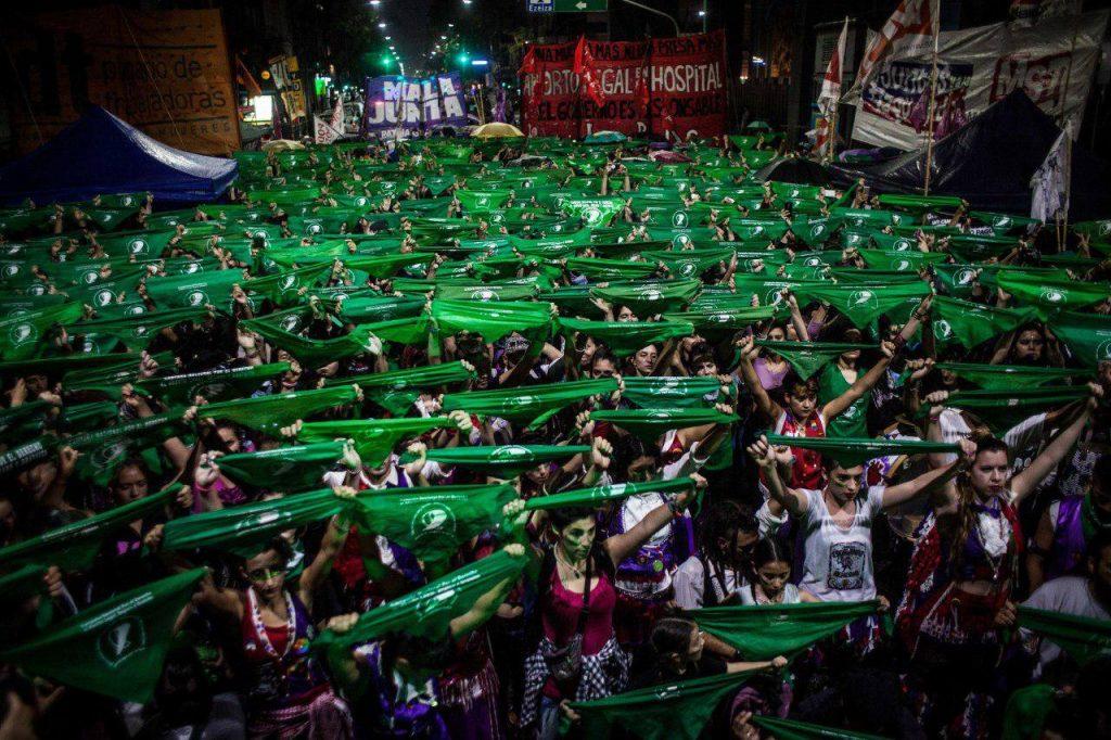 A aceitação do aborto legal cresce na Argentina