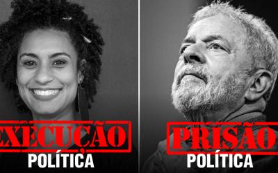 Contra o fascismo: Marielle presente e Lula livre!