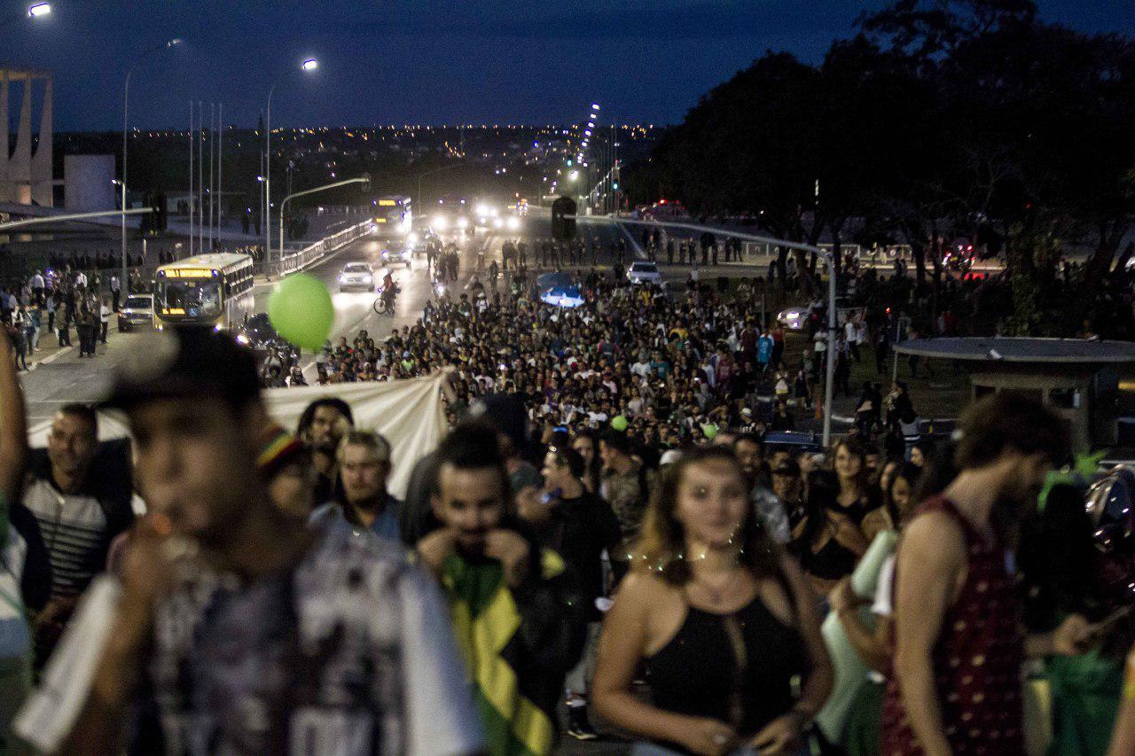 photo 2018 05 30 20 14 47 Marcha da Maconha levou milhares à Esplanada dos Ministérios em Brasília