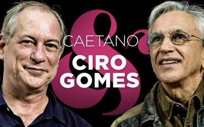 Caetano Veloso entrevista Ciro Gomes em sua coluna na Mídia NINJA
