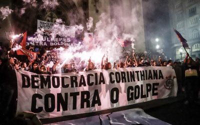 Em SP, torcidas organizadas antifascistas declaram apoio a Haddad