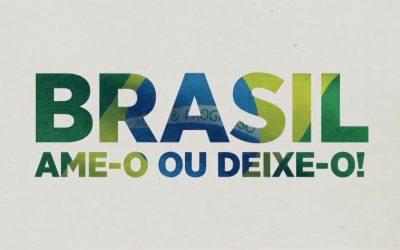 Ame-o ou Deixe-o, Silvio Santos retoma bordão da Ditadura