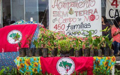 Famílias Sem Terra do Quilombo Campo Grande realizam ato ecumênico pela permanência na terra e contra o despejo