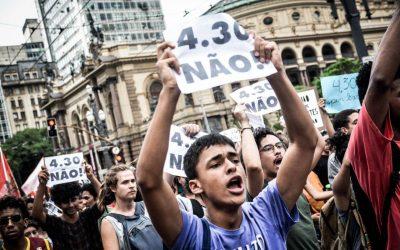 GALERIA: Milhares nas ruas contra o aumento da tarifa em São Paulo