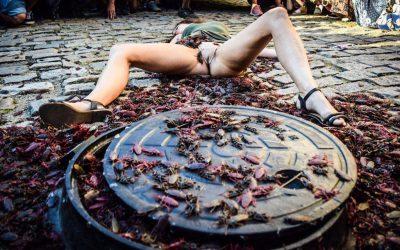 A arte não vai se calar: performance acontece no Rio mesmo sob censura de Witzel