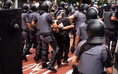 Forte repressão policial marca o segundo ato contra o aumento da tarifa em São Paulo