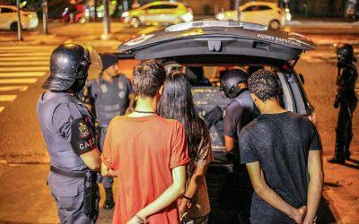 Em ato contra o aumento da passagem em SP, 12 jovens foram detidos e 3 irão passar por audiência de custódia