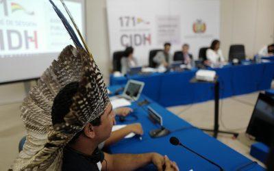 Organizações Indígenas denunciam política de  Bolsonaro à Comissão Interamericana de Direitos Humanos