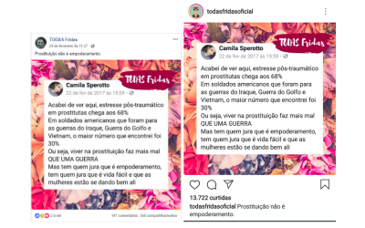 Monique Prada: Fake News pra calar prostitutas