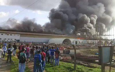 Incêndio atinge galpão da usina de Belo Monte em Vitória do Xingú
