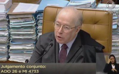Celso de Mello alfineta Governo e cita Simone de Beauvoir em julgamento sobre criminalização da LGBTfobia