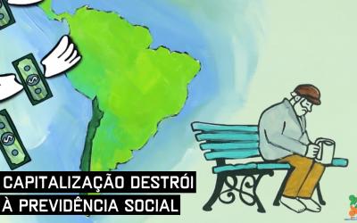 Vídeo mostra como a capitalização destrói a Previdência Social