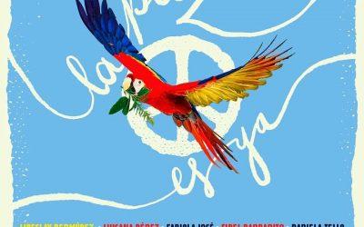 Artistas venezuelanos realizam campanha pela paz #LaPazEsYa