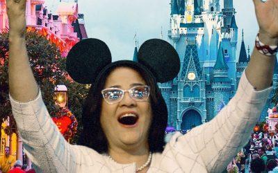 A Ministra da Disney: no #8M mulheres propõem devolver Damares para o século 19