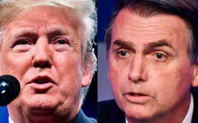 Bolsonaro nos EUA: visita terá atos surpresa e repúdio aos presidentes dos dois países