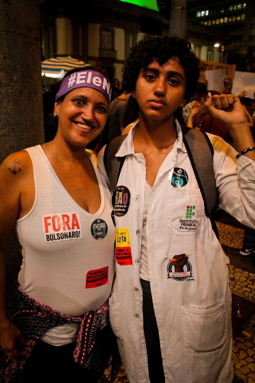 Claudia Toledo e Vitoria   Foto: Lia Castanho