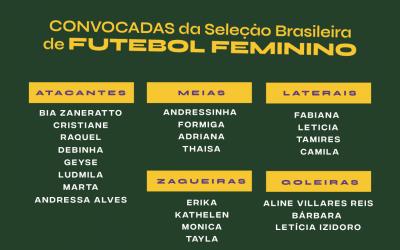 Conheça a Seleção Feminina para a Copa do Mundo 2019