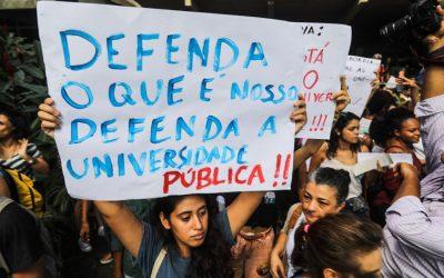 Tá chegando a tsunami: mobilizações em defesa da educação pelo Brasil