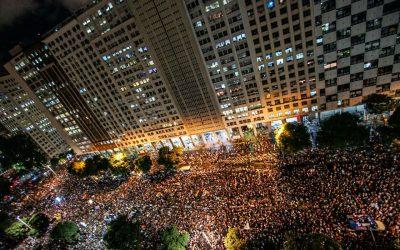 #15M: Multidão nas ruas do Rio por uma educação que transforme vidas