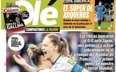 Ahora que sí nos ven: La Selección Femenina Argentina en los medios del mundo