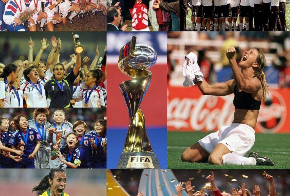 Histórico das Copas femininas