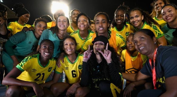 Um amor, um coração: Reggae Girlz unidas por um sonho