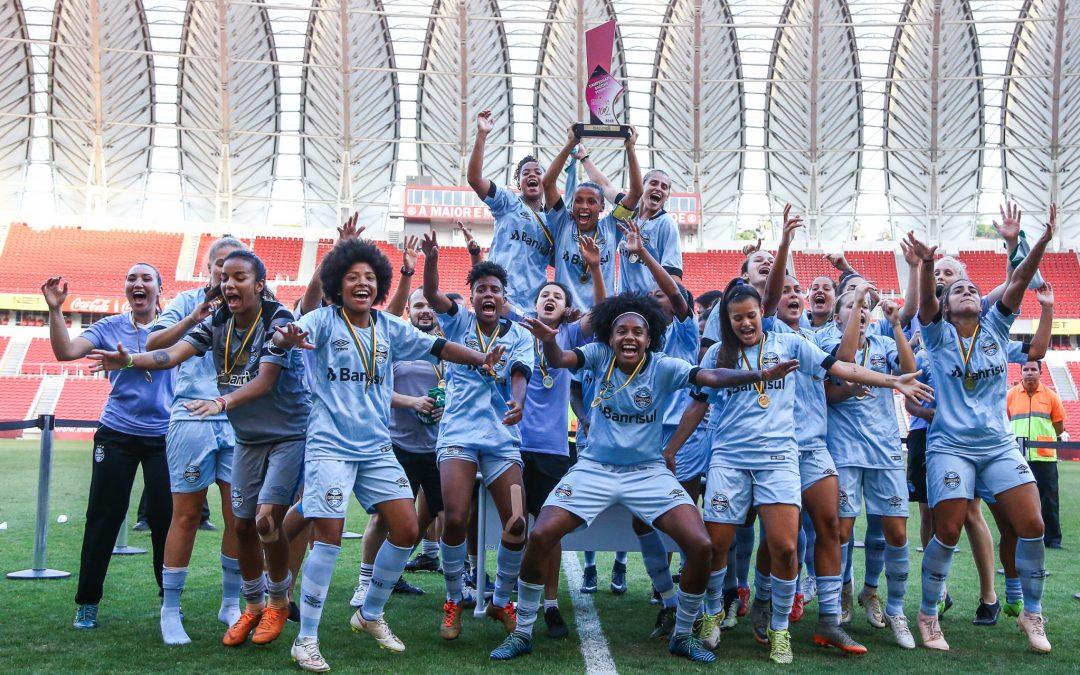 A história do time feminino do Grêmio