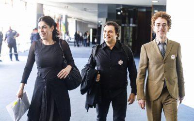 Artistas vão ao Senado Federal em defesa dos direitos autorais