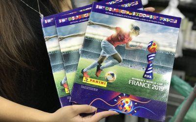 Onde estão os álbuns da Copa do Mundo Feminina?