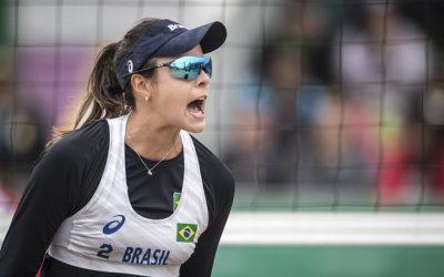 Brasil é bronze no vôlei de praia feminino do Pan-Americano 2019