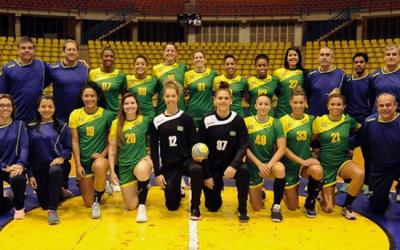 Em busca do hexa! Brasil goleia EUA por 34 a 9 e está na final do Handebol