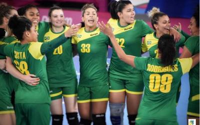 Brasil leva ouro no handebol feminino em cima da Argentina