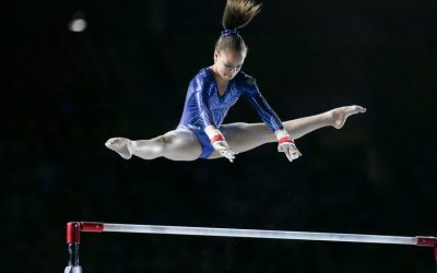 Mais um dia de apresentações na ginástica e mais uma medalha para o Brasil