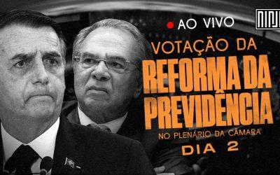 AO VIVO: Reforma da Previdência é votada na Câmara dos Deputados