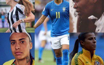 Jogadoras brasileiras se posicionam sobre a realidade do futebol feminino