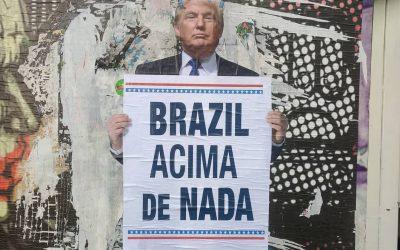 O Bolsonaro é o capitão do Trump